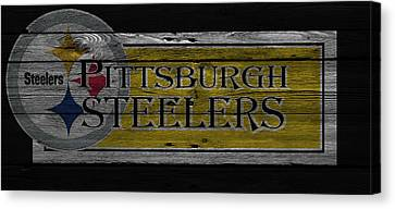 Pittsburgh Steelers Canvas Print by Joe Hamilton
