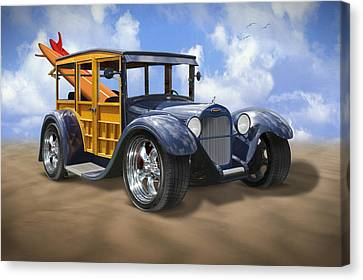 29 Woody Canvas Print by Mike McGlothlen