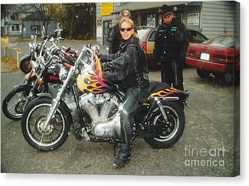 Bike Week Canvas Print