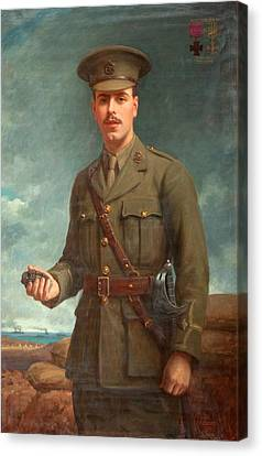 2nd Lieutenant Alfred Victor Smith, Vc Canvas Print