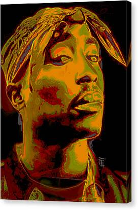 2pac  Canvas Print by  Fli Art