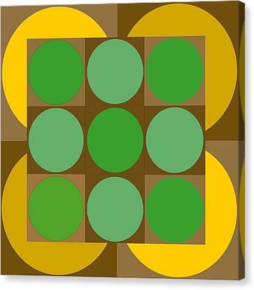 2x2vasarelyh Canvas Print by Robert Van Es