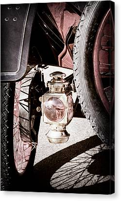 1911 Ford Model T Torpedo 4 Cylinder 25 Hp Taillight Canvas Print by Jill Reger