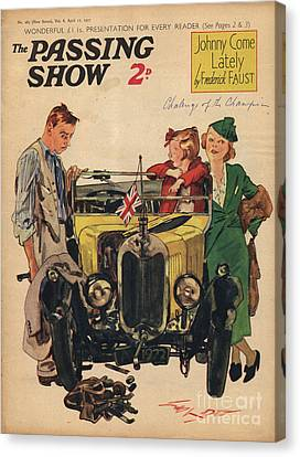 1930s,uk,passing Show,magazine Cover Canvas Print by The Advertising Archives