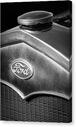 1931 Ford Grille Emblem Canvas Print by Jill Reger