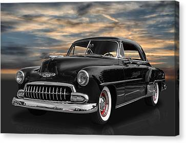1952 Chevrolet Deluxe Canvas Print