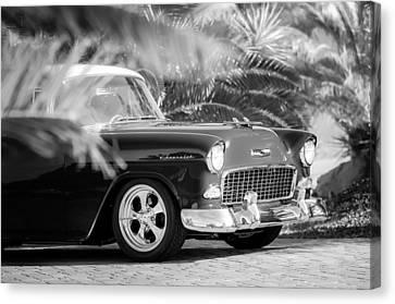1955 Chevrolet 210 Canvas Print by Jill Reger