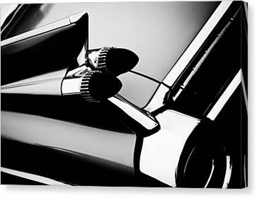 1959 Cadillac Convertible Canvas Print by David Patterson