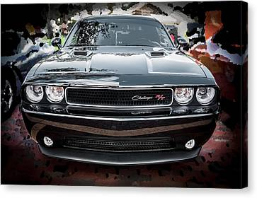2013 Dodge Challenger  Canvas Print by Rich Franco