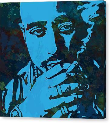 2pac Tupac Shakur Stylised Pop Art Poster Canvas Print