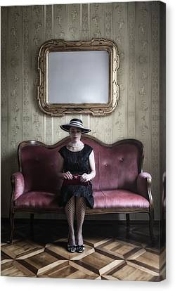 40s Lady Canvas Print by Joana Kruse
