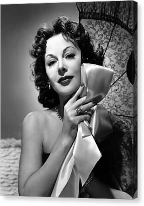 A Lady Without Passport, Hedy Lamarr Canvas Print