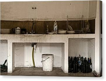 Abandoned In A Rush Canvas Print by RicardMN Photography