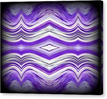 Abstract 49 Canvas Print by J D Owen
