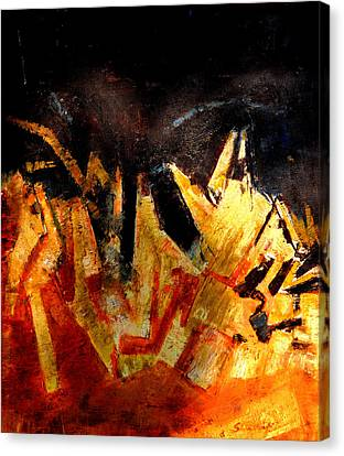 Abstract-6 Canvas Print by Anand Swaroop Manchiraju