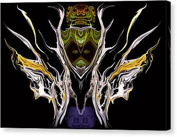 Abstract 94 Canvas Print by J D Owen