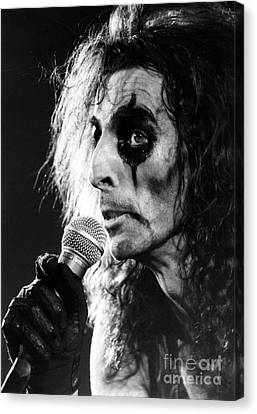 Alice Cooper 1979 Canvas Print by Chris Walter