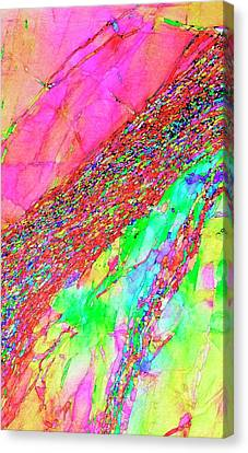 Aluminium Deformation Canvas Print