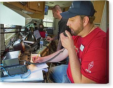 Amateur Radio Operators Canvas Print by Jim West