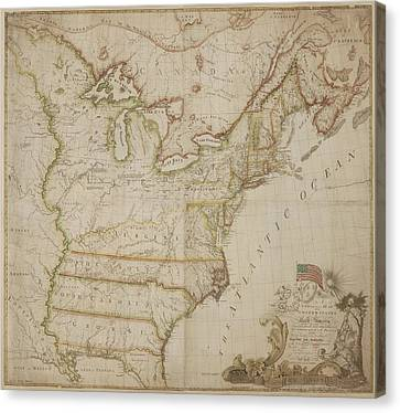 Corrected Canvas Print - America by British Library