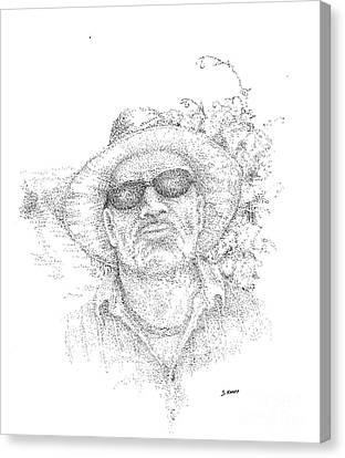 3 Amigos Sevriano Canvas Print