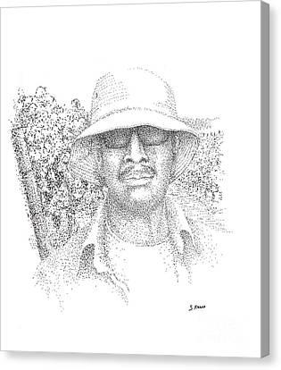 3 Amigos Wencelas Canvas Print