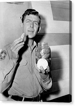 Airy Canvas Print - Andy Griffith by Retro Images Archive