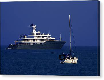 Antibes - Superyachts Of Billionaires Canvas Print