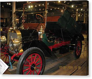 Antique Car Canvas Print by Dick Willis