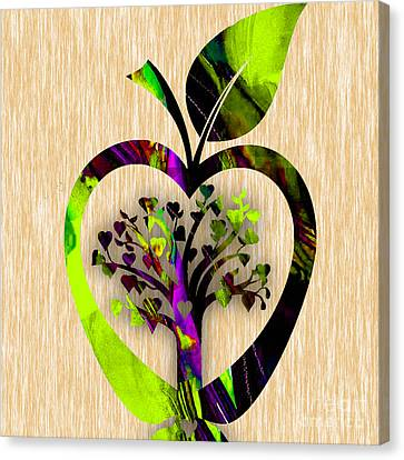 Apple Tree Canvas Print by Marvin Blaine