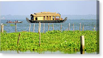 Asia, India, Kerala (backwaters Canvas Print by Steve Roxbury