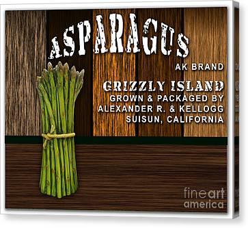 Asparagus Canvas Print - Asparagus Farm by Marvin Blaine
