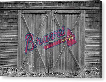 Atlanta Braves Canvas Print by Joe Hamilton