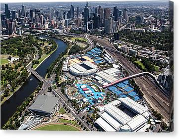 Australian Open Tennis 2015 Canvas Print by Brett Price