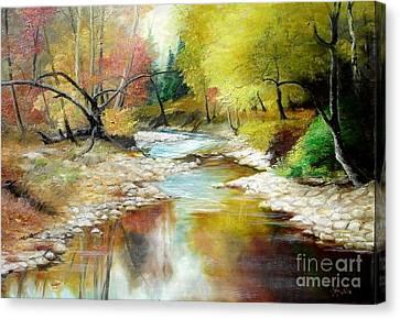 Autumn Canvas Print by Sorin Apostolescu
