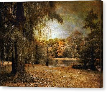 Autumn's Canvas Canvas Print by Jessica Jenney