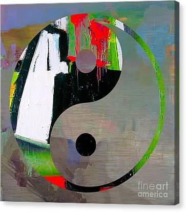 Balance Canvas Print by Marvin Blaine