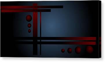 Balance Canvas Print by Shabnam Nassir