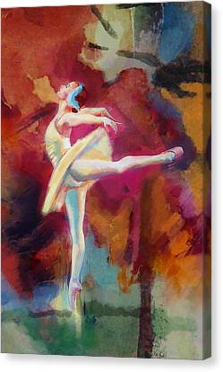 Ballet Dancer Canvas Print by Corporate Art Task Force