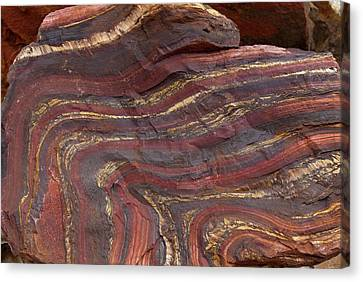 Bif Canvas Print - Banded Iron Formation by Dirk Wiersma