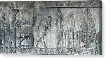 Bas-relief Canvas Print