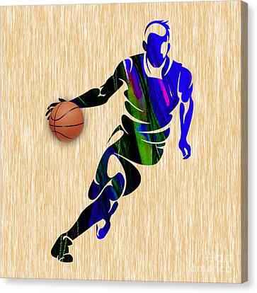 Basketball Canvas Print