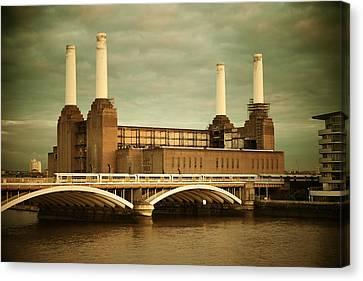 Battersea Power Station London Canvas Print