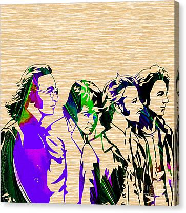 Beatles Collection Canvas Print by Marvin Blaine