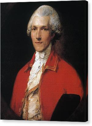 Benjamin Thompson (1753-1814) Canvas Print by Granger