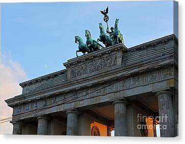 Berlin - Brandenburg Gate Canvas Print by Gregory Dyer