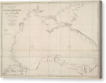 Black Sea Canvas Print by British Library