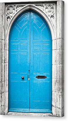 Blue Door Canvas Print by Tom Gowanlock