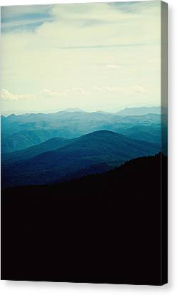 Blue Ridge Mountains Canvas Print by Kim Fearheiley