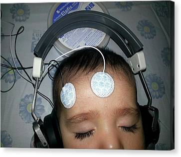 Brainstem Evoked Response Audiometry Canvas Print